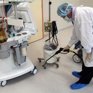 Reinigung Arztpraxis Microcleaner Trockendampf