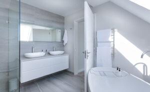 Badezimmer Sänitäre Anlage Micro Cleaner Trockendampf