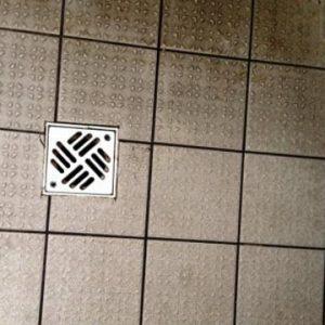 Reinigung Bodenplatten Micro Cleaner Trockendampf