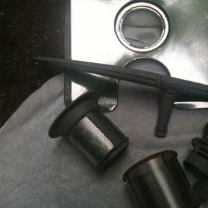 Reinigung Aluminium Micro Cleaner Trockendampf