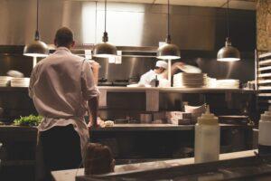 Küche sauber rein hygienisch