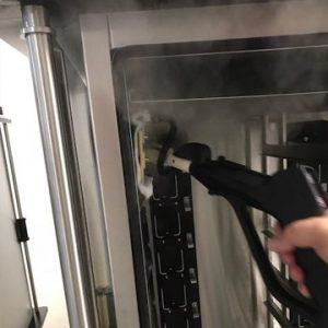 Reinigung mitAluminium Reinigung Micro Cleaner Trockendampf