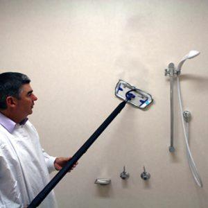 Reinigung mitWand Reinigung Micro Cleaner Trockendampf