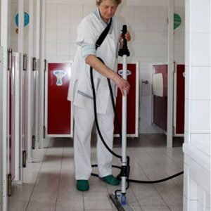Boden Reinigung Micro Cleaner Trockendampf