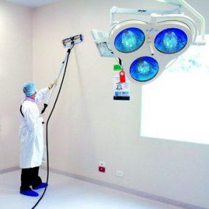 Reinigung Wände Micro Cleaner Trockendampf