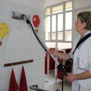 Wände Reinigung Micro Cleaner Trockendampf