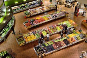 Supermarkt Micro Cleaner Trockendampf