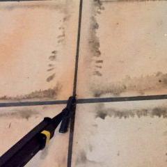 Reinigung Boden Micro Cleaner Trockendampf